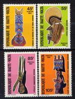 Hte VOLTA - 541/544** - MASQUES AFRICAINS - Obervolta (1958-1984)