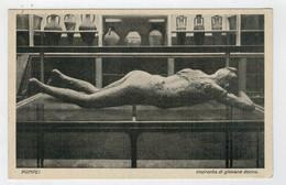 POMPEI     MUSEO  ARCHEOLOGICO  IMPRONTA  DI  GIOVANE  DONNA         (NUOVA) - Pompei