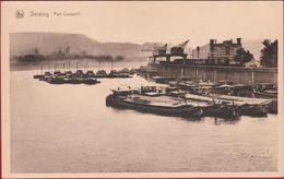 Seraing Liege Port Cockerill Peniche Binnenschip Barge 1908 Scheepvaart - Seraing
