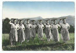 CPSM Folklore Basque - Danse Basque Des Marchandes De Poisson Par Begiraleak De St Jean De Luz - Ed Chatagneau Bordeaux - Danses