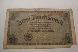 BILLET ALLEMAGNE 2 REICHSMARK - [ 4] 1933-1945 : Third Reich