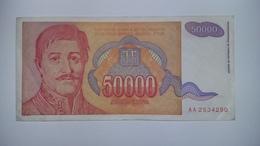 Yugoslavia Inflation Banknote - Yugoslavia