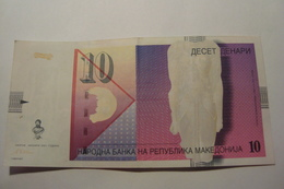 BILLET MACEDOINE 10 DENARI 2001 - Macedonia