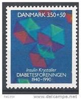 Danemark 1990 N°988  Neuf ** Surtaxe Pour Association Des Diabétiques - Danemark