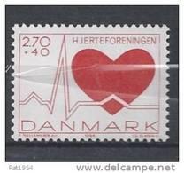 Danemark 1984 N°814 Neuf ** Surtaxe Pour Le Coeur - Dinamarca