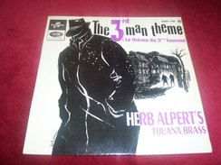 FILM  THE 3 Rd MAN THEME  °° LE THEME DU 3eme HOMME  PAR HERB ALPERT'S TIJUANA BRASS - Soundtracks, Film Music