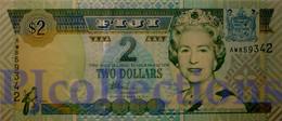 FIJI 2 DOLLARS 2002 PICK 104 UNC - Fidji