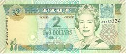 FIJI 2 DOLLARS 2002 PICK 104 UNC - Figi