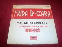 FILM AMARCORD  DE FELLINI  ° FRIDA BOCCARA    JE ME SOUVIENS - Soundtracks, Film Music