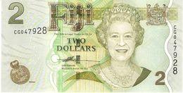 FIJI 2 DOLLARS 2007 PICK 109a UNC - Fidji
