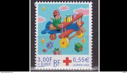 FRANCE 2000 - Yvert &Téllier 3362, Neuf **- Au Profit De La Croix-Rouge Française - Nuevos