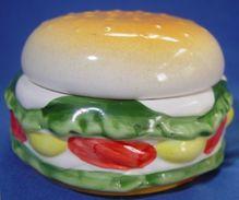 "Ceramic Box  "" Hamburger "" - Ceramics & Pottery"