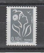 Timbre FRANCE / 2006 / Y&T N° 3965 ** :Marianne De  Lamouche 0,10 € Gris - France