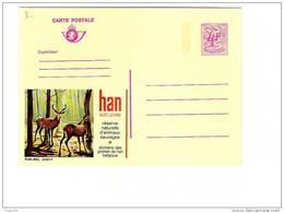 Publibel Neuve N° 2601 F (HAN SUR LESSE, Domaine Des Grottes Et Parc à Gibier (cerf,chevreuil) - Entiers Postaux