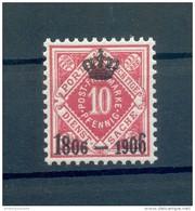 Württemberg KRÖNCHEN 110 LUXUS**POSTFRISCH 15EUR (72908 - Wuerttemberg