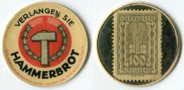 N93-0404 - Timbre-monnaie Hammerbrot - 100 Kronen - Kapselgeld - Encased Postage (Autriche) - Monetary /of Necessity