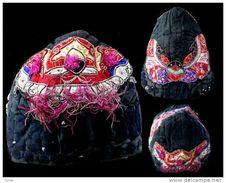 Coiffe Miao Aux Deux Papillons / Old Yunnan Miao Headress - Art Asiatique