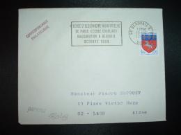 L. TP ST LO 0,20 OBL.MEC.10-10-1968 BEAUVAIS RP (60 OISE) ECOLE D'ELECTRICITE INDUSTRIELLE DE PARIS (ECOLE CHARLIAT) INA - Annullamenti Meccanici (pubblicitari)
