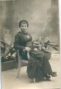 Carte-photo Jeune Femme Orientale Judaica - Personnes Anonymes