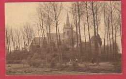 Chièvres - L'Eglise Saint-Martin Et La Tour De Grave - 1938 ( Voir Verso ) - Chièvres