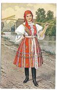 Les Costumes Nationaux TCHECOSLOVAQUES - Tchéquie