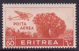 Italy-Colonies And Territories-Eritrea A19 1934 Air Scenes 60c Orange,Mint Hinged - Eritrea