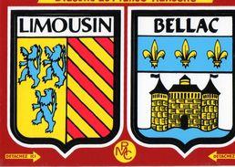 Thèmes > Non Classés  Adhésif Bellac Limousin - Cartoline
