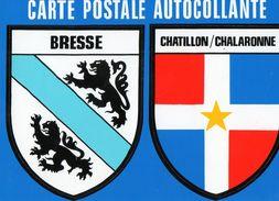 Thèmes > Non Classés  Adhésif Bresse Chatillon / Chalaronne - Cartes Postales