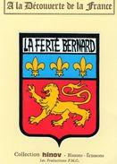 Vieux Papiers > Non Classés Adhésif La Ferté Bernard - Vieux Papiers