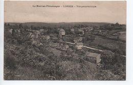 LORMES (58) - VUE PANORAMIQUE - Lormes