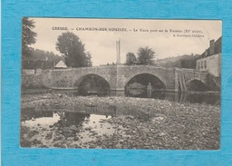 Chambon-sur-Voueize. - Le Vieux Pont Sur La Voueize. - Hôtel. - Chambon Sur Voueize
