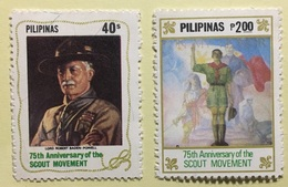 MNH Philippines 1982 - Scouting Year 2V - Movimiento Scout