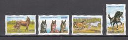 Turkey 2001,4V,set,horses,paarden,pferde,chevaux,caballos,cavalli(A3402) - Horses