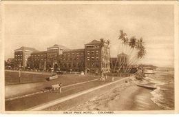 SRI LANKA  ---  GALLE FACE HOTEL,  COLOMBO - Sri Lanka (Ceylon)