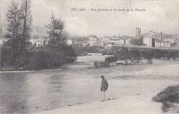 12----MILLAU--vue Générale Et Les Bords De La Dourbie--voir 2 Scans - Millau