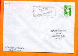PYRENEES-ATLANTIQUES, Asson, Flamme SCOTEM N° 12208, Porte De La Vallée De L'Ouzoum - Oblitérations Mécaniques (flammes)