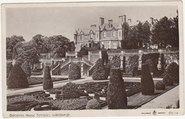 Balcarres House Terraces. Colinsburgh  -  (Scotland) - Fife