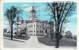 America > United States > MO - Missouri > St Charles.- Court House.postcard.via Germany - St Charles