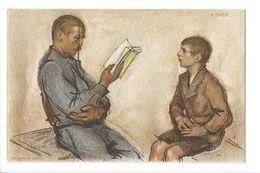 17282 - 1922 N° 36 Fête Nationale Bibliothéque Pour Tous Bundesfeier Cartolina De La Festa Nazionale - Entiers Postaux