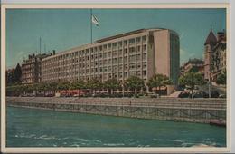 Hotel Du Rhone, Geneve - Photo: L.M. Kohler - GE Genève