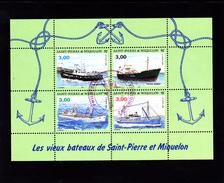 """SPM 1996 Feuillet N° 5  Neuf ** Mais Avec Cachet """"Philatélie PERIGUEUX - Voir Verso & Descriptif - - Blocks & Sheetlets"""