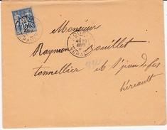 HERAULT  Cachet A  De LODEVE Sur Type Sage - Postmark Collection (Covers)