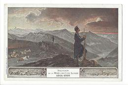 17297 - Souvenir De La Mobilisation Suisse 1914-1916 - Weltkrieg 1914-18