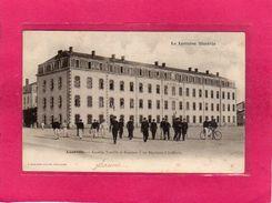 54 MEURTHE ET MOSELLE, LUNEVILLE, Caserne Treuille De Beaulieu, Militaria, Animée, (P. Helmlinger) - Casernes