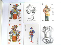 UN LOT N° 5 DE 6 JOKERS TOUS DIFFERENTS - Kartenspiele (traditionell)