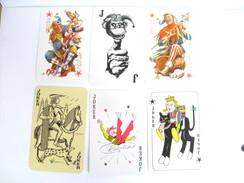 UN LOT N° 9 DE 6 JOKERS TOUS DIFFERENTS - Cartes à Jouer Classiques