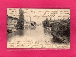 54 MEURTHE ET MOSELLE, LUNEVILLE, Vue Sur La Vezouze, Animée, Lavandière, 1903 - Luneville
