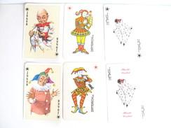 UN LOT N° 11 DE 6 JOKERS TOUS DIFFERENTS - Cartes à Jouer Classiques
