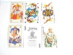 UN LOT N° 12 DE 6 JOKERS TOUS DIFFERENTS - Cartes à Jouer Classiques