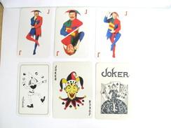 UN LOT N° 14 DE 6 JOKERS TOUS DIFFERENTS - Kartenspiele (traditionell)